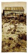 Rusty Rural Ramshackle Beach Towel