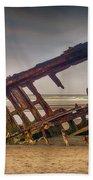 Rusty Shipwreck Beach Towel