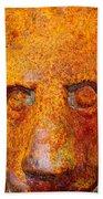 Rusty The Lion Beach Towel