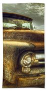 Rusty Truck Beach Towel