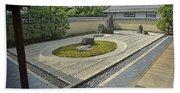 Ryogen-in Zen Rock Garden - Kyoto Japan Beach Towel