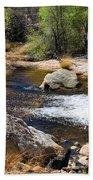 Sabino Creek Falls Beach Towel