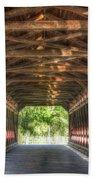 Sachs Bridge - Gettysburg - Vert.-hdr Beach Towel