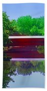 Sachs Covered Bridge - Gettysburg Pa Beach Towel