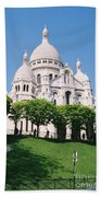 Sacre Coeur Beach Towel