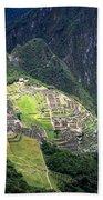Sacred City Of Machu Picchu Beach Towel