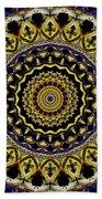 Sacred Mandala Beach Towel