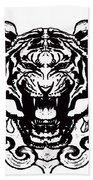 Sacred Tiger Beach Towel