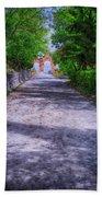 Sacromonte Abbey Entrance Beach Towel