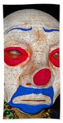 Sad Clown Beach Towel
