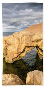 Saddle Rocks At High Tide Beach Towel