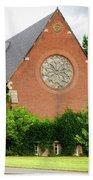 Sage Chapel Cornell University Ithaca New York 02 Beach Towel