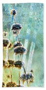 Sage Plant Beach Towel
