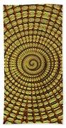 Saguaro Cactus Top Abstract #4 Beach Towel