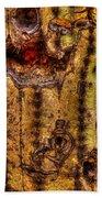 Saguaro Detail No. 18 Beach Towel