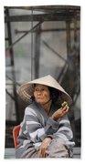 Saigon Lady Beach Towel