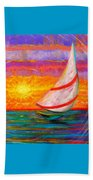 Sailaway Beach Towel