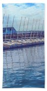 Sailboat Classes Beach Towel