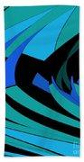Sailing Blue - Left Beach Towel