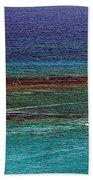 Sailing Day Beach Towel by Karen Zuk Rosenblatt