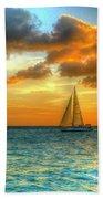 Sailing Free Beach Towel