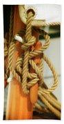 Sailing Knot Beach Towel