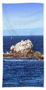 Sailing Monterey Bay Beach Towel