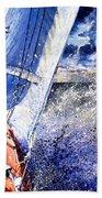 Sailing Souls Beach Towel