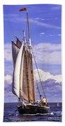 Sailor's Serenity Beach Towel
