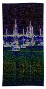 Sails At Sunrise Beach Towel