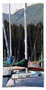 Sails Of Seldovia Beach Towel