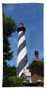 Saint Augustine Lighhouse Beach Sheet