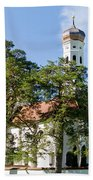 Saint Coloman Church 3 Beach Towel