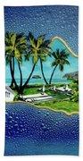Saint Damien And Molokai #257 Beach Towel