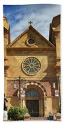 Saint Francis Cathedral Beach Towel