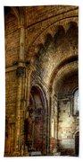 Saint Isidore - Romanesque Temple Transept Beach Towel