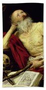 Saint Jerome Beach Towel