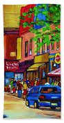 Saint Lawrence Street  Beach Towel