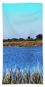 Saint Marks National Wildlife Refuge Lagoon Beach Towel
