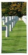 Saint Mihiel American Cemetery Beach Towel by Travel Pics