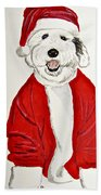 Saint Nick Beach Towel