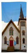 Saint Paul's Episcopal Church Verginia City Nevada Beach Towel