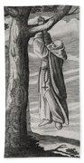 Saint Victorinus Does Penance Beach Sheet