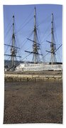 Salem Maritime National Historic Site In Salem  Massachusetts Usa Beach Towel