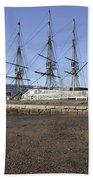 Salem Maritime National Historic Site In Salem  Massachusetts Usa Beach Sheet