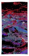 Salmon Run 8 Beach Towel