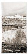 Salt Lake City Landmarks Beach Towel