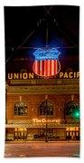 Salt Lake City Union Pacific Depot Beach Towel
