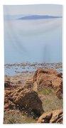 Salt Lake View 3 Beach Towel