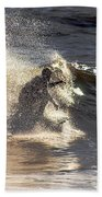 Salt Spray Surfing Beach Towel